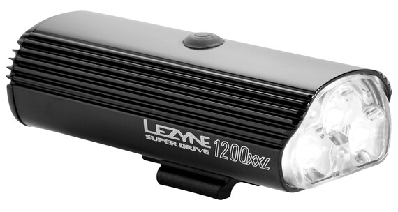 Lezyne LED Super Drive 1200 XXL Frontlicht schwarz